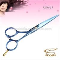 ICOOL USW-55 Beauty Salon Scissors Types of Hair Scissors