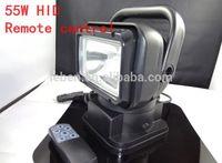 55W HID XENON Rotating Remote Control Search Auto / Work / Boat / Spot Light Spotlight Brand New, Car Auto lighting source Part