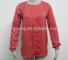 New style hot sale ladies blouse design 2014
