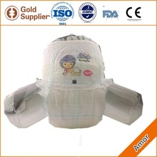 Antibacterial Cloth-like disposable diaper pant