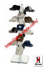 new reach sport cap display rack/steel cap&hat display/metal cap holder
