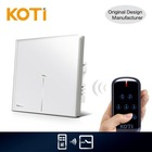 Koti Wireless Modern Touch Screen Remote Control Light Switch With Led Indicator
