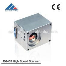 JD1403 Galvo Head for High speed CO2 online Laser Flying Marking Machine/30W
