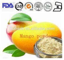 2014 high purity instant mango powder/mango flavor powder