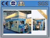 QTH type CE standard high speed wide web six colours PE film flexo printing press (180 m/min)