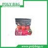frozen food vacuum sealing clear zip lock plastic bag