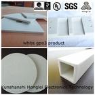 white fibre reinforced plastics gpo-3 polyester resin composite sheet