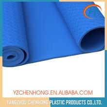 Double layers two tone custom printed yoga mats