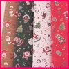 hot sale 4C printing Christmas Santa /Snow Man Kraft Gift Wrapping Paper