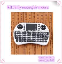 Rii i8 2.4G Wireless Mini Keyboard Touchpad for PC Pad Google Andriod smart TV Box