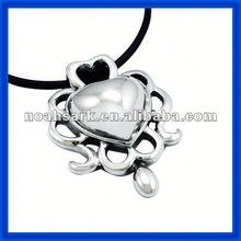 China Manufactures Stainless Steel Heart Shape Pearl Pendant TPSK623#