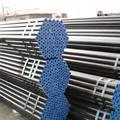 Api5l/a106/a53, din, jis din2448 de acero al carbono tubo fabricante