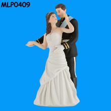 Prince & Princess Resin Wedding Doll Cake Topper