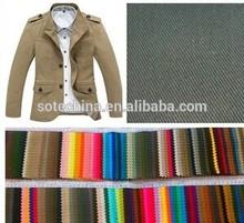Spot cotton twill khaki 16* 21 128 *60 leisure dress pants fabric cloth