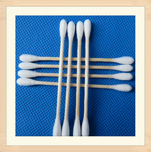 cotton buds 100pcs, dental cotton swabs,sterile cotton stick