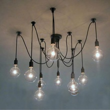 Simple Vintage Industrial antique art deco light fixture