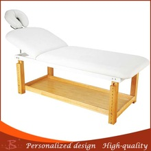 wood beauty table no deformation facial table new concept massage table