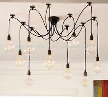 Simple Vintage Industrial antique cable pendant lighting
