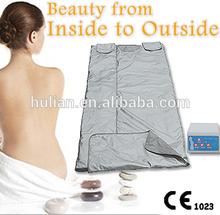 2015 yüksek kaliteli güzellik donanımları infrared sauna battaniye lympth makine detoks