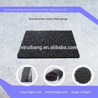 paint room granular filter active carbon
