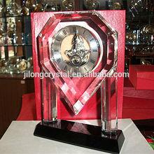 heart decor crystal clock wedding return gifts