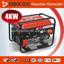 CE/CARB/EMC/IAF/GS/SONCUP 0.65kva-5kva Petrol Home Power Generator