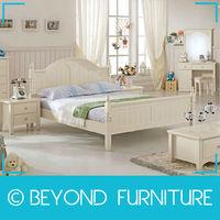 Princess Girls White Classic Kids Bedroom Furniture