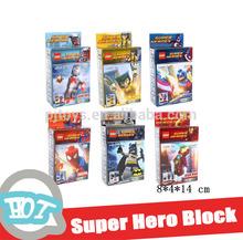 SUPER HEROES BUILDING BLOCK NOT LEGO
