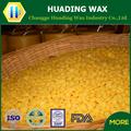 Chaude! Meilleure qualité de la cire d'abeille granule10 jaune ou blanc de revêtement pour la nourriture