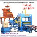 Qt5-15 semi automática bloco de concreto ocas que faz a máquina