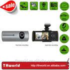 Promotion sale 2 camera car dvr with external GPS logger