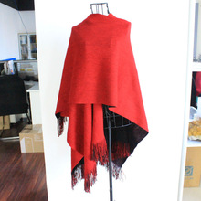 Soft feels 100% imitated cashmere scarf pattern for men in fashion model