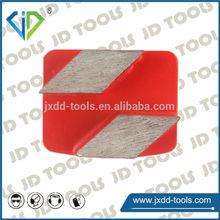 diamond Steel welding plates for concrete in soft medium hard bond