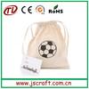 cotton linen drawstring bag,canvas drawstring backpack bag for girls