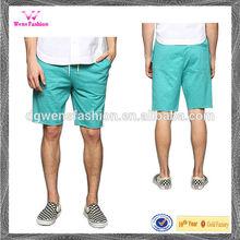 100% Cotton Colorful Male Capris Short Pants