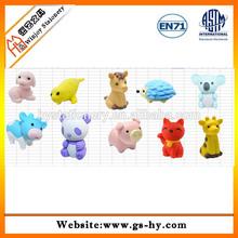 HY-F001 fashion animal shape TPR novelty erasers