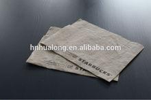 brown kraft paper tissue/napkin/serviettes