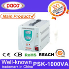 China Manufacture 1000 watt Single Phase Automatic Voltage Regulator/ Stabilizer/AVR