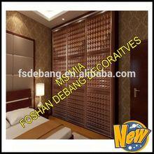 Modern Portable Folding Fabric Canvas Clothes Closet Sliding Door Wardrobe