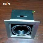 anodizing aluminum lighting housing black MR16 light frame