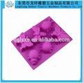 animal em forma de borboleta de silicone do molde
