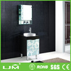 Wall-mounted customized makeup portable bathroom vanity