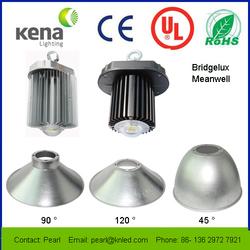 USA Bridgelux 120-130Lm/W chip LED High Bay Light,High PF MeanWell 90-305V LED Bay Light,120W LED High Bay Light