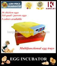 CE Compliant Family Use Energy Saving Fully Automatic Quail Egg Incubator (KP-36)