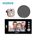 Dual-Monitore 2,4-ghz-wireless- guckloch betrachter sicherheits-tür-kamera