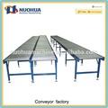 heavy duty de buena calidad de acero inoxidable mesa de rodillos del transportador