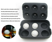 soft and harmless 100% silicone ice ball mold