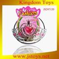 Crianças tiara da princesa na venda, Plástico barato tiara crown atacado