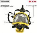 100% silicone máscara de bombeiro