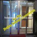 uso interno de grandes portas de vidro deslizantes